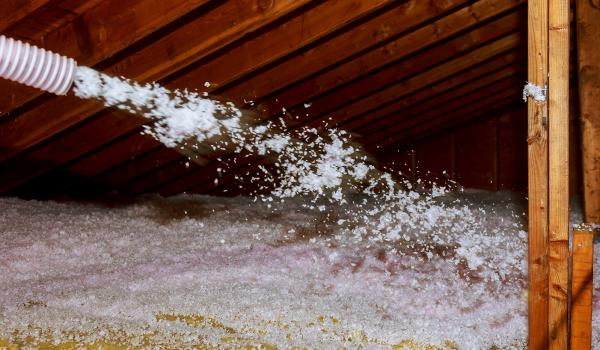 Blown-in insulation is an effective way to upgrade your attic and prevent heat loss. Where Should You Insulate Your Home? | Okanagan Insulation Services