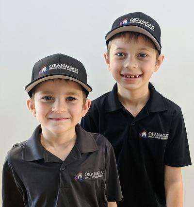 Jackson & Linden Meyer of Okanagan Insulation Services