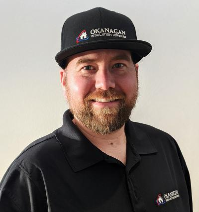 Josh Meyer of Okanagan Insulation Services