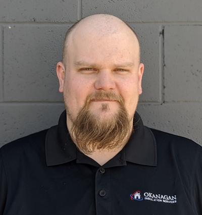 Randy Williams of Okanagan Insulation Services